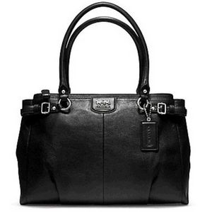 Coach Madison Kara Leather Shoulder Bag